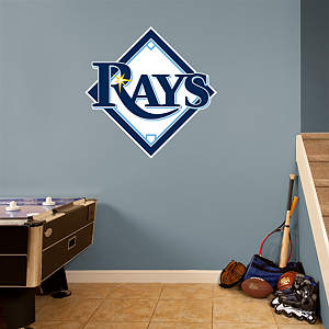 Tampa Bay Rays Logo Fathead Wall Decal